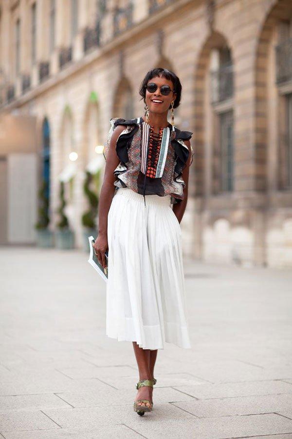 Правильно подобранная юбка гарантирует успех у мужчин. Тем более, если она скрывает лишнее и подчёркивает достоинства