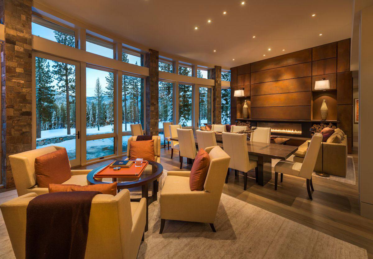 Лесная резиденция возле озера Тахо