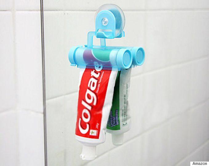 Устройство для выдавливания пасты ванна, дизайн, креатив