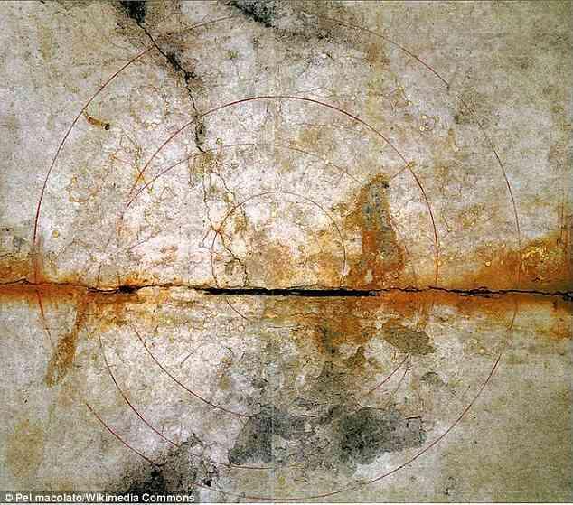 Загадочная могила в Японии сохранила изображение из космоса