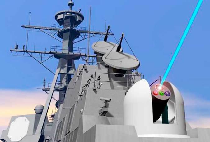 Китай создал боевой лазер для уничтожения дронов