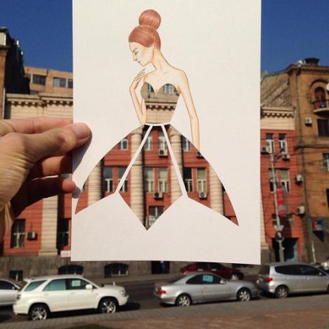 Невероятные эскизы платьев от fashion-иллюстратора Эдгара Артиса
