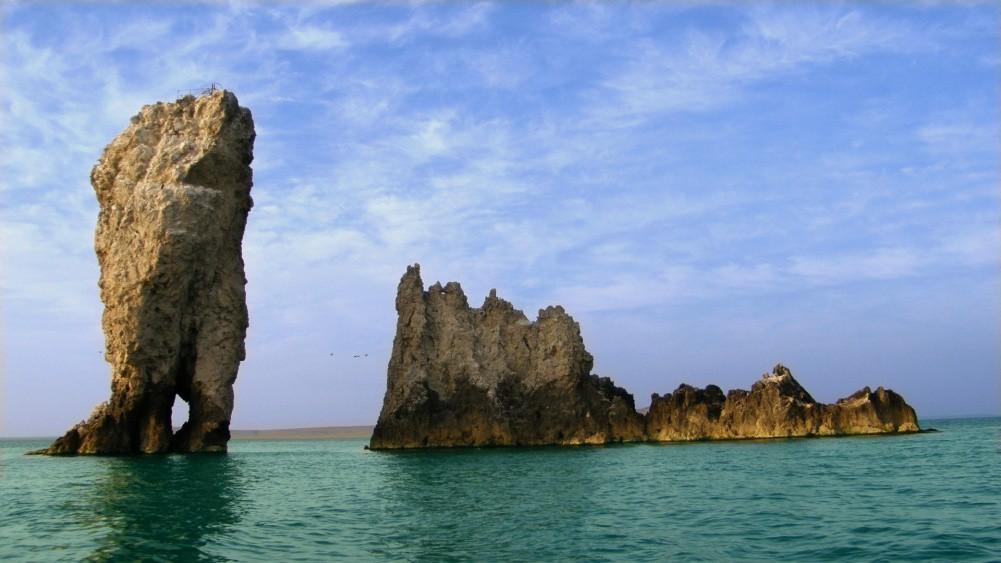 Скалы-корабли в Опукском заповеднике крым, отдых, природа