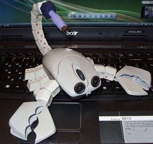 Как сделать мышку на компьютер своими руками 65