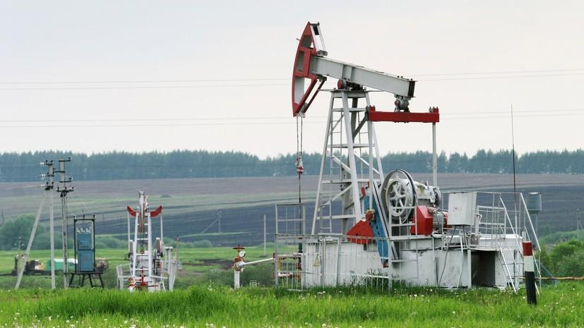 Цена на нефть марки WTI опустилась ниже $65 за баррель