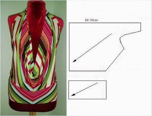 Как сшить блузку с выкройками