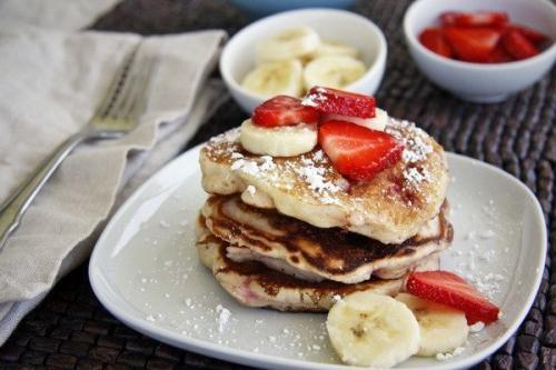 Творожные оладьи с Овсянкой — идеальный диетический  завтрак?