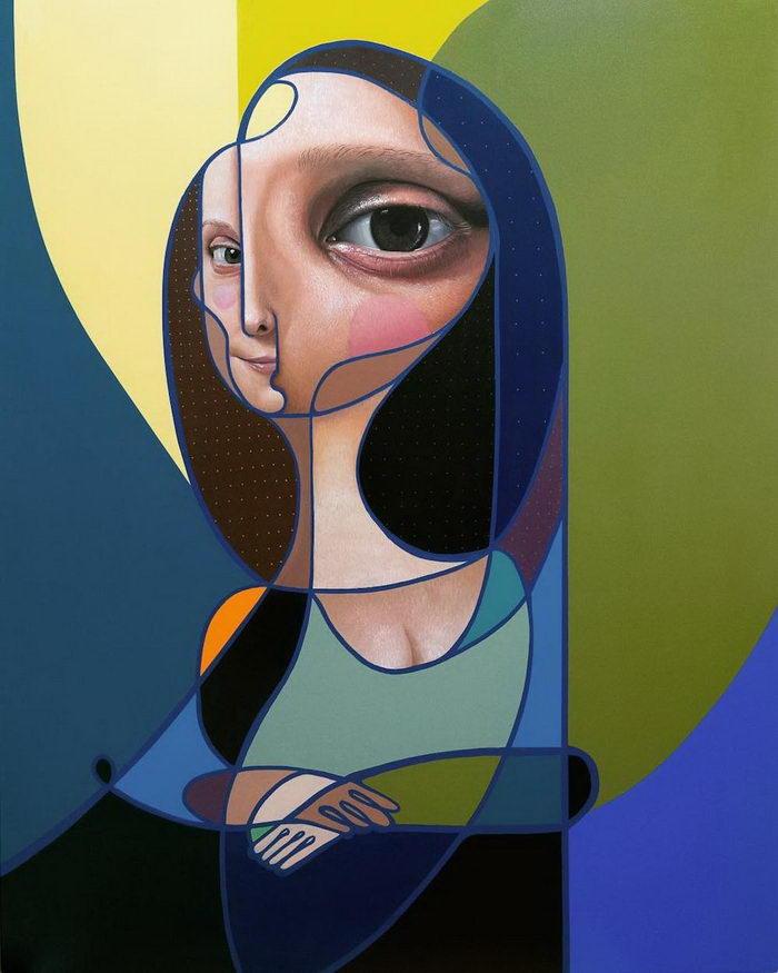 Современные портреты женщин Miguel Ángel Belinchón
