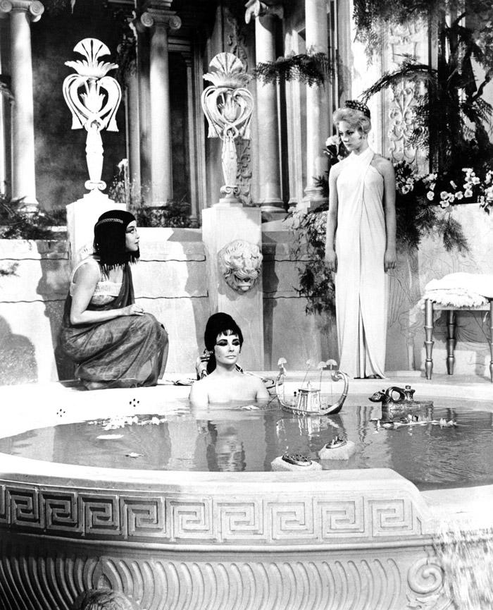 Элизабет Тейлор (Elizabeth Taylor) на съемках фильма «Клеопатра» (Cleopatra) (1963), фото 27