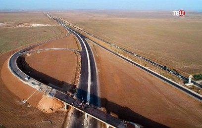 """Как в Крыму строят трассу """"Таврида"""""""