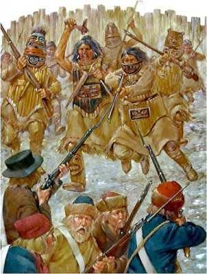 Русско-индейская война на Аляске 1802 - 1805 г.г.