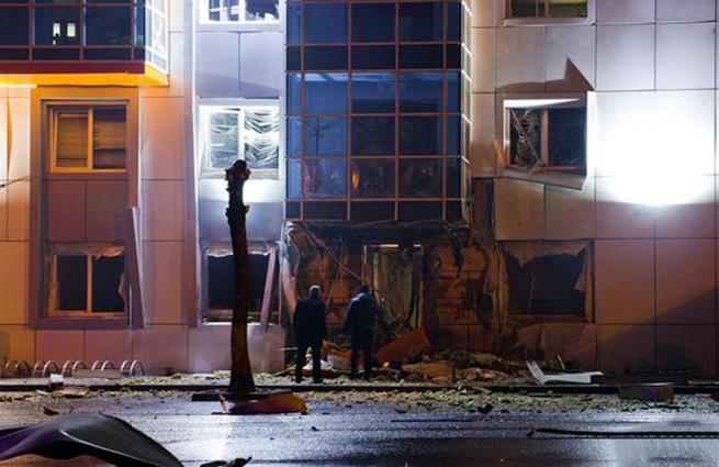 В Одессе взорвали офис украинской партии «Самопомощь»