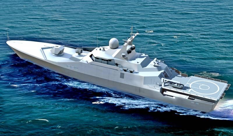Малый противолодочный корабль проекта 23420. Инфографика