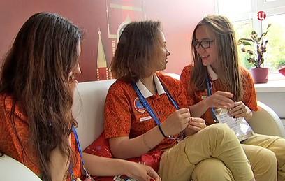 В Москве открылся штаб по координации деятельности волонтеров ЧМ-2018