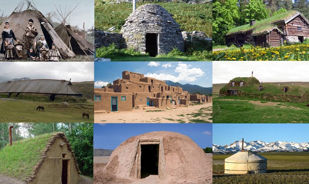 Долой ипотеку: 15 древних техник постройки дома своими руками