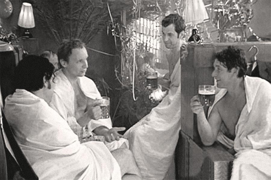 фильм сын с мамой в бане