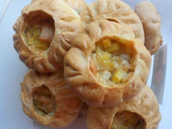 Татарские пирожки - легко, просто и вкусно