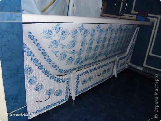 Интерьер Декупаж Плетение Переделки в ванной   Бумага Дерево фото 1