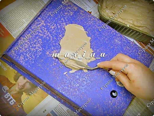 Декор предметов Мастер-класс Ассамбляж Почтовый ящик в технике Терра МК Гипс Краска Материал природный фото 10