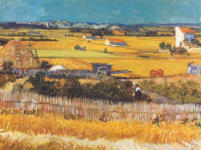 """Жатва"", В. Ван Гог, 1888"