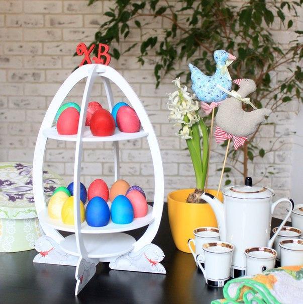 Мастер-класс по созданию подставки для пасхальных яиц своими руками