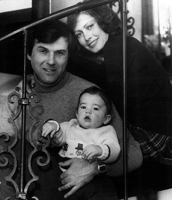 Фотографии без глянца: Советские знаменитости со своими детьми