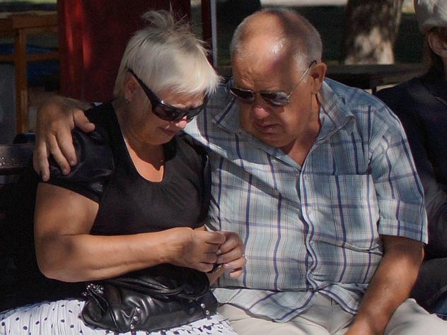 После потери любимого супруга риск смерти у человека возрастает вдвое