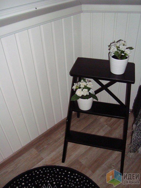 Дизайн балкона, мебель на балконе