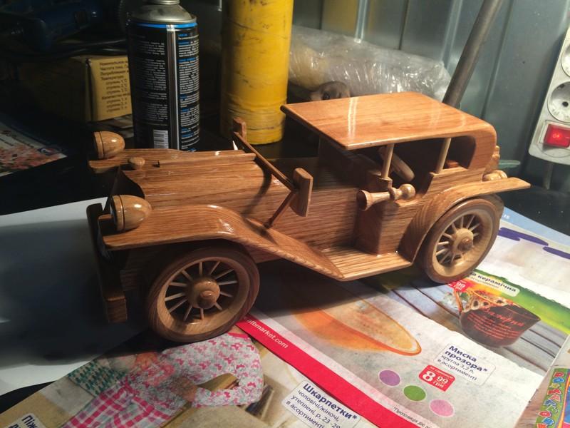Тяжелое детство, деревянные игрушки... модели авто, своими руками