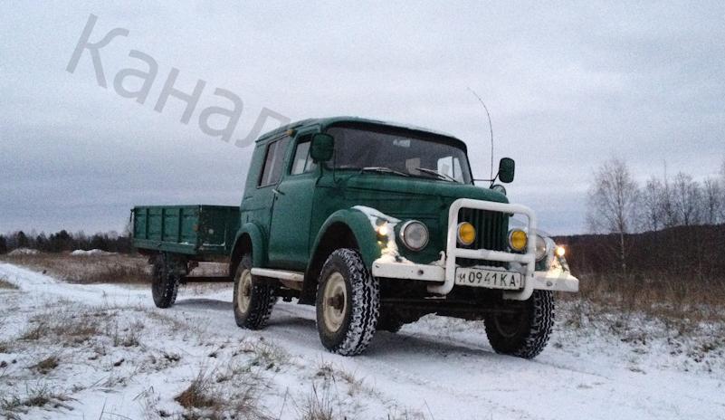 Собрал идеального помощника для дачи из ГАЗ-69