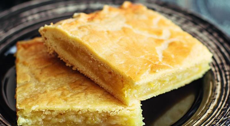 Изумительный пирог с лимоном