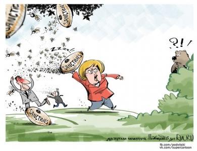 «Главный злодей» для Евросоюза отнюдь не Путин, а Меркель