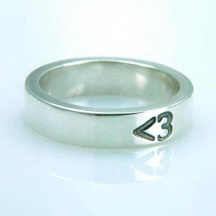 Милое кольцо со смайликом-сердечком диза, кольцо, креатив