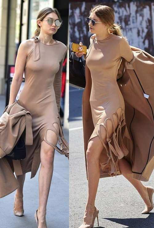 Платье Джиджи Хадид