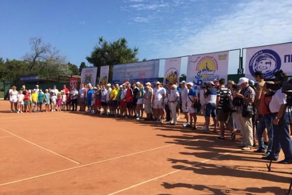 В Севастополе начался теннис…