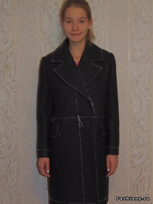 МК Зимнее пальто (часть 2)