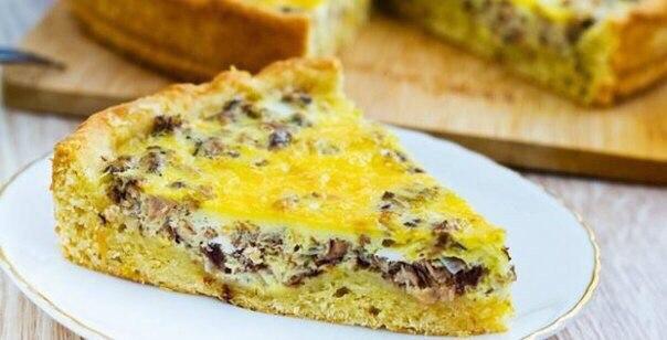 Самый Быстрый рыбный пирог на сковороде «Морская бухта»