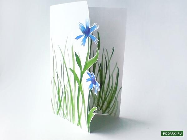 Открытка к8 марта «Цветы»