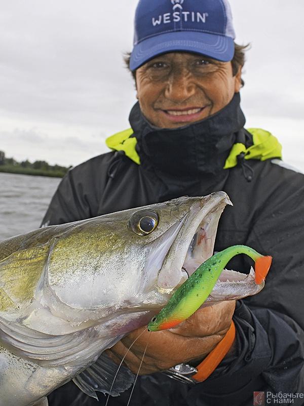 рыбалка на лопастей