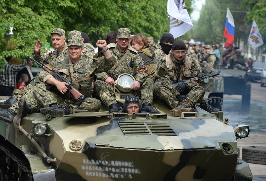 Ополченцы начали партизанскую войну в тылу у силовиков