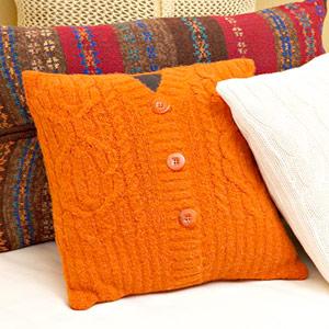 亲手缝制抱枕的装饰 - maomao - 我随心动