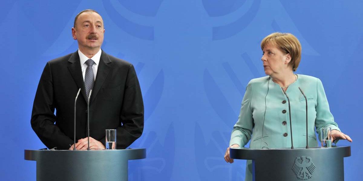 Меркель едет в Азербайджан за альтернативой российскому газу