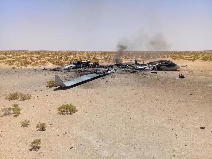 В Ливии разбился китайский БПЛА Wing Loong II