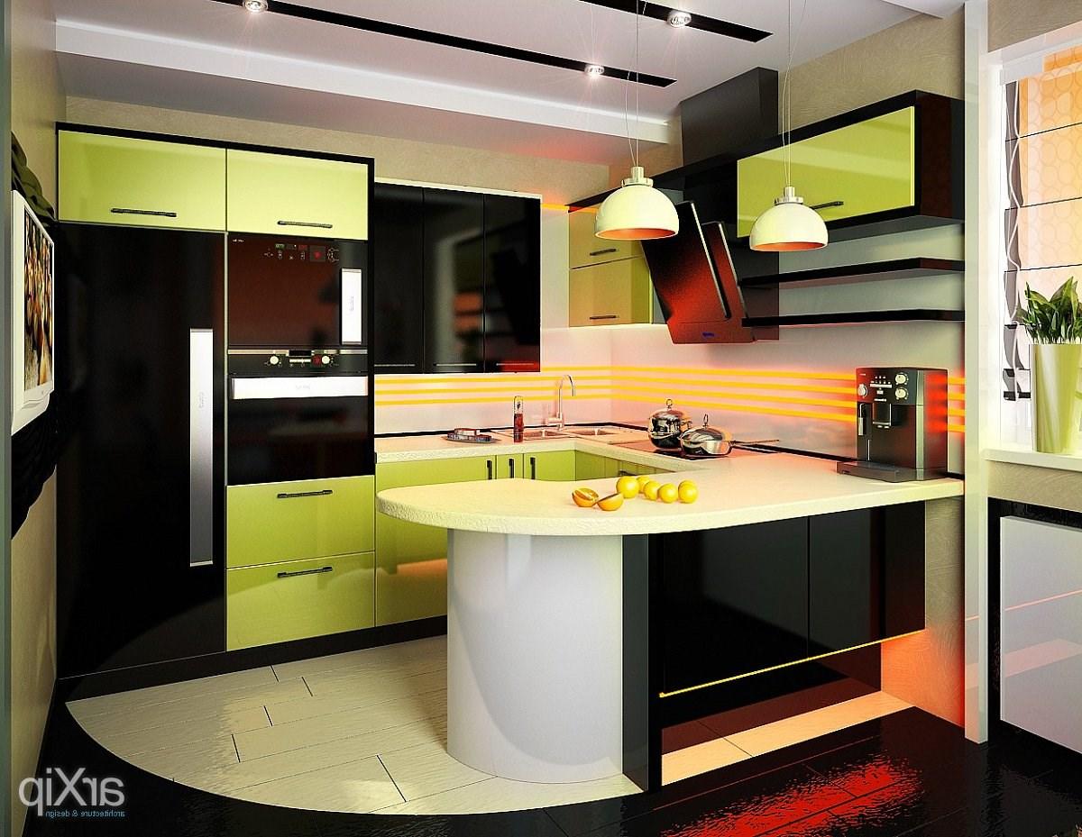 Дизайн интерьера кухни 10м2