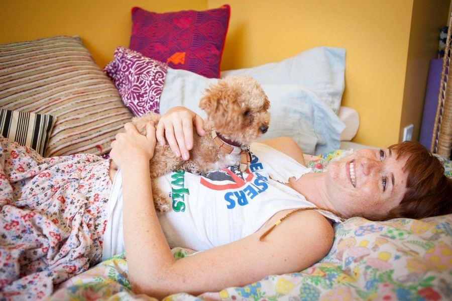 Одна история из жизни Лапшички Рамен - собаки инвалида