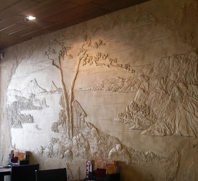 Рельефные стены своими руками