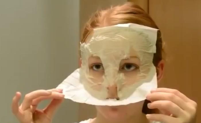 Яичная маска-пленка. Отличная альтернатива очищающим полоскам