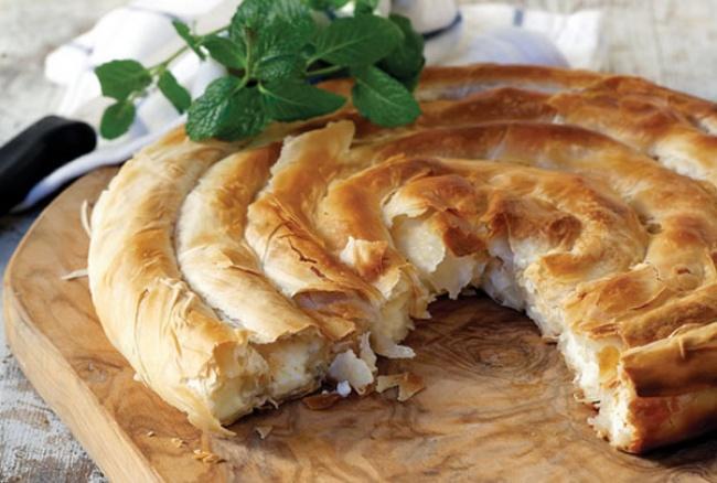 Спиральный пирог