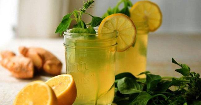 Рецепт напиток для похудения с имбирем и лимоном и корицей