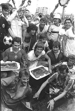 Как Олег Янковский организовал в Куйбышеве феерический футбольный матч.